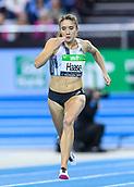 2nd February 2019, Karlsruhe, Germany;  60m women: Rebekka Haase (GER). IAAF Indoor athletics meeting, Karlsruhe