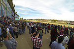 Fans packed the stands in preparation of the running of the Southwest Stakes (Grade III) at Oaklawn Park in Hot Springs, Arkansas on February 17, 2014. (Credit Image: © Justin Manning/Eclipse/ZUMAPRESS.com)