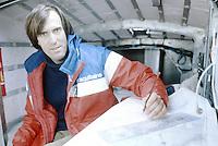 Marc Pajot sur Elf Aquitaine, 1981. Vainqueur de la Route du Rhum 1982.