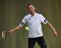 Hilversum, The Netherlands, 05.03.2014. NOVK ,Nat.Indoor Veterans Championships of 2014, Gerard Scholtes (NED)<br /> Photo:Tennisimages/Henk Koster