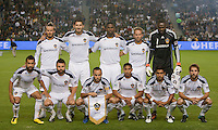 CARSON, CA – NOVEMBER 14:  LA Galaxy starting line up during the Western Conference Final soccer match at the Home Depot Center, November 14, 2010 in Carson, California. Final score LA Galaxy 0, Dallas FC 3.