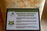 Landguard Fort, Felixstowe, Suffolk, England, UK 1950s Cold War Seaward defence headquarters