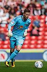 Robbin Ruiter of Sunderland during the Championship match at the Stadium of Light, Sunderland. Picture date 9th September 2017. Picture credit should read: Simon Bellis/Sportimage