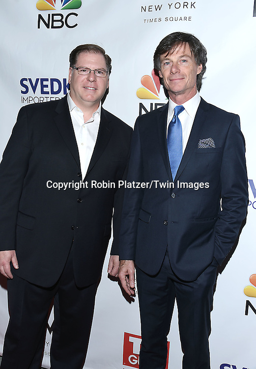 Michael Keever and Paul Turcotte attends the&quot;TV Guide Magazine&quot; Party for Cover Star Seth Meyers on June 14, 2016 at the W New York Hotel in New York City, New York, USA.<br /> <br /> photo by Robin Platzer/Twin Images<br />  <br /> phone number 212-935-0770