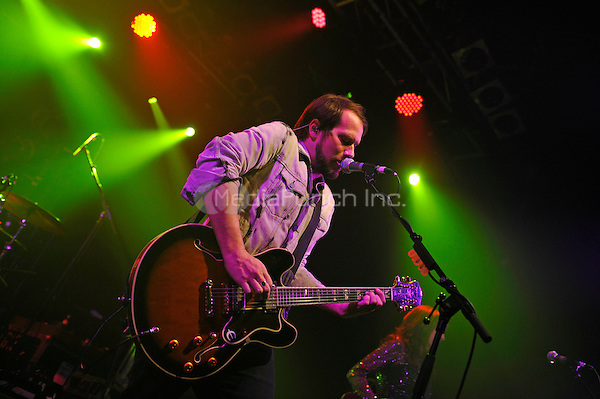 LONDON, ENGLAND - NOVEMBER 9: Brian Aubert of 'Silversun Pickups' performing at Electric Ballroom on November 9, 2016 in London, England.<br /> CAP/MAR<br /> &copy;MAR/Capital Pictures /MediaPunch ***NORTH AND SOUTH AMERICAS ONLY***
