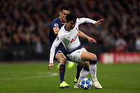 Hirving Lozano of PSV Eindhoven and /t7 during Tottenham Hotspur vs PSV Eindhoven, UEFA Champions League Football at Wembley Stadium on 6th November 2018