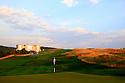 10th hole, European Challenge Tour, Azerbaijan Golf Challenge Open 2014, Azerbaijan National Golf Club, Quba, Azerbaijan. (Picture Credit / Phil Inglis)