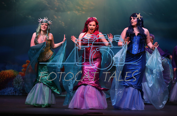 The Western Nevada Musical Theatre Company rehearses for their The Little Mermaid production at the Community Center in Carson City, Nev. on Wednesday, Nov. 2, 2016.<br /> Photo by Cathleen Allison