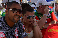 SAO PAULO, SP, 12 FEVEREIRO 2013 - CARNAVAL SP - APURAÇÃO -  Presidentes e diretores da Mocidade Alegre durante apuração dos votos das escolas de Samba do Grupo Especia no Sambódromo do Anhembi na região norte da capital paulista, nesta terça, 12. FOTO: LEVI BIANCO - BRAZIL PHOTO PRESS