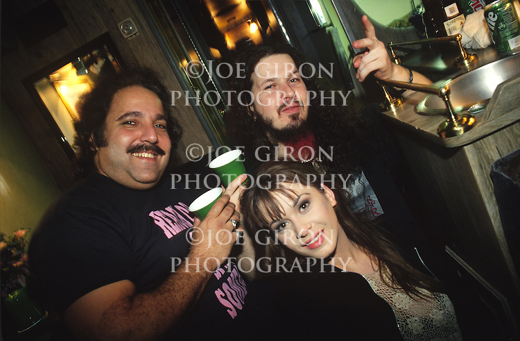 Various portrait sessions and live photographs of the rock band, Pantera.<br /> <br /> Dimebag Darrell with porn star Ron Jeremy and an unidentified actress.