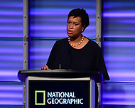 WASHINGTON, DC - JUNE 8: D.C. Mayor Muriel Bowser attends an advanced screening of 'From the Ashes' presented by National Geographic and Bloomberg Philanthropies at National Geographic Headquarters on June 8, 2017 in Washington, DC. (Photo by Don Baxter/National Geographic/PictureGroup)