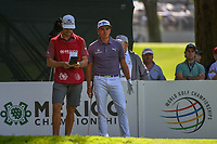 Rickie Fowler (USA) looks over his tee shot on 7 during round 1 of the World Golf Championships, Mexico, Club De Golf Chapultepec, Mexico City, Mexico. 2/21/2019.<br /> Picture: Golffile | Ken Murray<br /> <br /> <br /> All photo usage must carry mandatory copyright credit (© Golffile | Ken Murray)