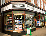 Anglia Photographics and Sports shop, a specialist local retailer, Halesworth, Suffolk, England