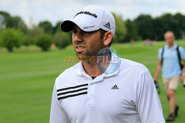 Sergio Garcia (ESP) in action on the 15th hole during Day 2 of the BMW International Open at Golf Club Munchen Eichenried, Germany, 24th June 2011 (Photo Eoin Clarke/www.golffile.ie)