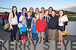 Clodagh Burn, Catriona Moore, Aisling Moore, Melissa Ryan, Susie Moore, Jimmy Moore, Bridget Moore, Tara Burn, Ciara Moore, Ben Moore, Jack Costello, Conor Costello, Hannah Rose Costello, Enjoying the Kerry General Hospital Benefit Meeting in the Kingdom Greyhound Stadium on Friday