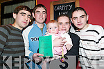 Race Night: At the race night in Christys Bar, Listowel, on Friday night were l-r: Timmy, Brian Jnr, Mikey, Molly and Donal Mulvihill, Derry, Listowel..