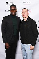 "Damson Idris and Theo Barklem-Biggs<br /> arriving for the ""Farming"" screening as part of the S.O.U.L. Festival at the BFI Southbank, London<br /> <br /> ©Ash Knotek  D3517 30/08/2019"