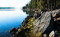 Lake and shoreline