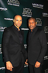 Delano Barbosa & Thaddeus Daniels - Layon Gray's Black Angels Over Tuskegee goes into its 4th year as they celebrate their 3rd Anniversary on March 2, 2013 at the Actors Temple Theatre, New York City, New York.  (Photo by Sue Coflin/Max Photos)