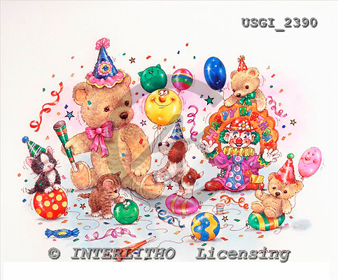 GIORDANO, CHILDREN BOOKS, BIRTHDAY, GEBURTSTAG, CUMPLEAÑOS, humor, paintings+++++,USGI2390,#BI#,#H# ,everyday ,everyday