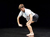 Joe Moran / Dance Art Foundation <br /> On The Habit of Being Oneself at the Lilian Baylis, Sadler's Wells, London, Great Britain <br /> press photocall <br /> 28th September 2017 <br /> world premier <br /> <br /> <br /> <br /> Andrew Hardwidge - solo dancer <br /> <br /> <br /> <br /> Photograph by Elliott Franks <br /> Image licensed to Elliott Franks Photography Services