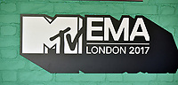 MTV Logo<br /> MTV EMA Awards 2017 in Wembley, London, England on November 12, 2017<br /> CAP/PL<br /> &copy;Phil Loftus/Capital Pictures