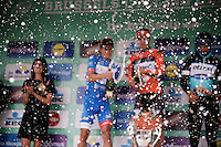 champaign podium shower<br /> <br /> Brussels Cycling Classic 2015