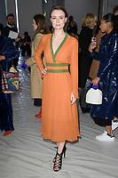 Jennifer Kirby<br /> at the Jasper Conran show as part of London Fashion Week, London<br /> <br /> <br /> ©Ash Knotek  D3378  17/02/2018