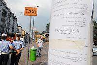 - Milan, arabic language leaflets in Padova street....- Milano, manifesti in lingua araba in via Padova