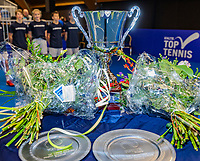 Alphen aan den Rijn, Netherlands, December 15, 2018, Tennispark Nieuwe Sloot, Ned. Loterij NK Tennis, Trophys<br /> Photo: Tennisimages/Henk Koster