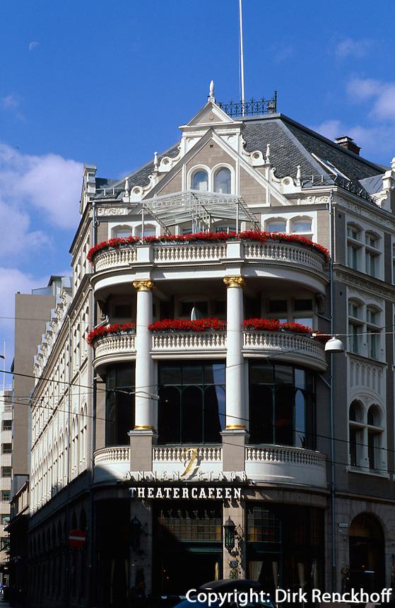 Norwegen, Oslo, Theatercaféen im Hotel Continental