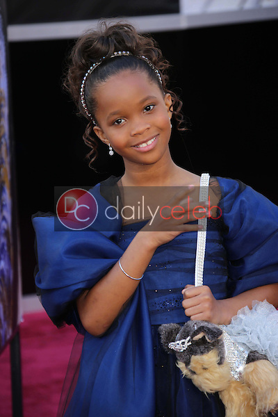 Quvenzhane Wallis<br /> at the 85th Annual Academy Awards Arrivals, Dolby Theater, Hollywood, CA 02-24-13<br /> David Edwards/DailyCeleb.com 818-249-4998