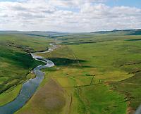 Áslaugarstaðir, Selárdalur séð til suðvesturs, Vopnafjarðarhreppur / Aslaugarstadir, Selardalur viewing southwest, Vopnafjardarhreppur.