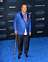 "LOS ANGELES, USA. December 17, 2019: Billy Dee Williams at the world premiere of ""Star Wars: The Rise of Skywalker"" at the El Capitan Theatre.<br /> Picture: Paul Smith/Featureflash"