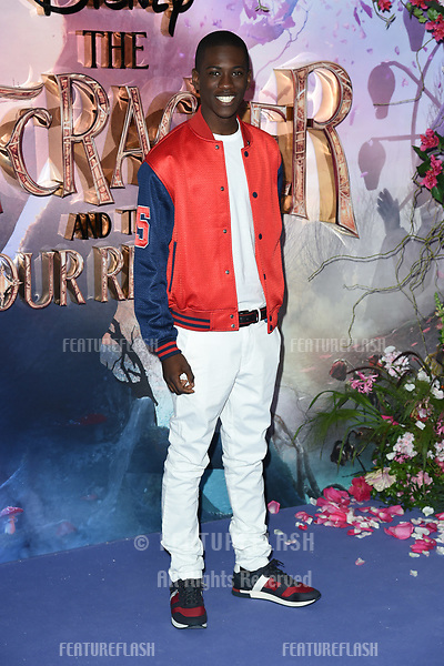 """LONDON, UK. November 01, 2018: Jayden Fowora-Knight at the European premiere of """"The Nutcracker and the Four Realms"""" at the Vue Westfield, White City, London.<br /> Picture: Steve Vas/Featureflash"""