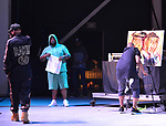 MIRAMAR, FL - May 18: Rakim of Eric B & Rakim and Demont 'hip hop Picasso' Pinder performs during The PK's Throwback 105.5 Birthday Bash & Godfathers Of Hip Hop at Miramar Regional Park Ampitheatre on May 18, 2018 in Miramar, Florida.  ( Photo by Johnny Louis / jlnphotography.com )