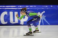 SCHAATSEN: HEERENVEEN: 11-12-2014, IJsstadion Thialf, International Speedskating training, Ireen Wüst, ©foto Martin de Jong