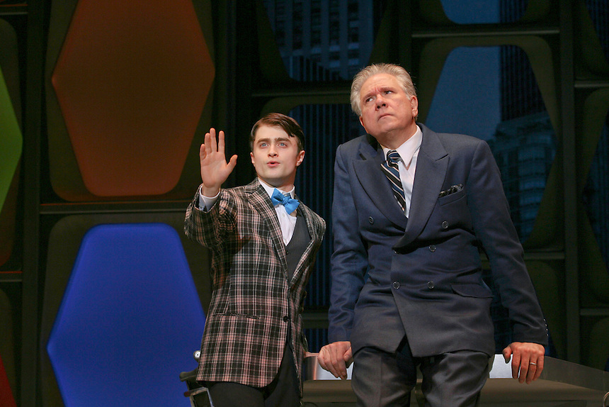 HOW TO SUCCEED IN BUSINESS WITHOUT REALLY TRYING  dress rehearsal.  Al Hirschfeld Theatre.  Photo by Ari Mintz  2/26/2011.