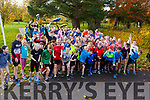 Under starters orders at the 100th Junior Park Run in the Tralee town park on Sunday morning