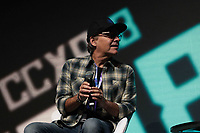 SAO PAULO, SP - 06.12.2018 - CCXP 2018 - O Cineasta Chris Columbus durante a Comic Con 2018 no S&atilde;o Paulo Expo, na zona sul de S&atilde;o Paulo na tarde desta quinta-feira (06).<br /> <br /> (Foto: Fabricio Bomjardim / Brazil Photo Press)