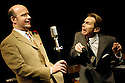 Round The Horne Revisited with Robin Sebastian as Kenneth Williams, Jonathan Rigby as Kenneth Horne,  opens at the Venue 22/1/03 CREDIT Geraint Lewis