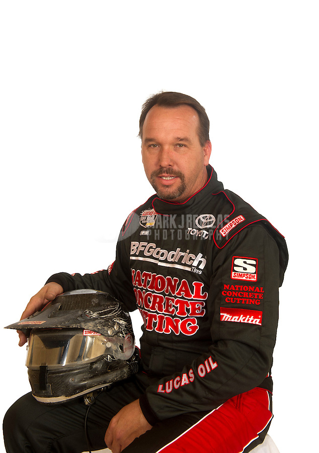 Mar. 18, 2011; Chandler, AZ, USA;  LOORRS driver Chris Brandt poses for a portrait at Firebird International Raceway. Mandatory Credit: Mark J. Rebilas