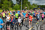 The runners take off at the start of  the Run Killarney Marathon on Saturday