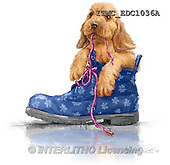 Marcello, REALISTIC ANIMALS, REALISTISCHE TIERE, ANIMALES REALISTICOS, paintings+++++,ITMCEDC1036A,#A# ,dogs,puppies