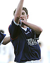 16/02/2008    Copyright Pic: James Stewart.File Name : sct_jspa10_falkirk_v_st_mirren.PATRICK CREGG CELEBRATES AFTER HE SCORES FALKIRK'S FOURTH.James Stewart Photo Agency 19 Carronlea Drive, Falkirk. FK2 8DN      Vat Reg No. 607 6932 25.Studio      : +44 (0)1324 611191 .Mobile      : +44 (0)7721 416997.E-mail  :  jim@jspa.co.uk.If you require further information then contact Jim Stewart on any of the numbers above........