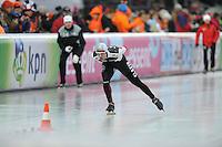 SCHAATSEN: BOEDAPEST: Essent ISU European Championships, 07-01-2012, 5000m Men, Haralds Silovs LAT, ©foto Martin de Jong