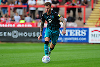 Joe Rodon of Swansea City in action during the pre season friendly match between Exeter City and Swansea City at St James Park in Exeter, England, UK. Saturday, 20 July 2019