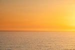 Sunset over the Pacific Ocean, Santa Monica, CA, USA