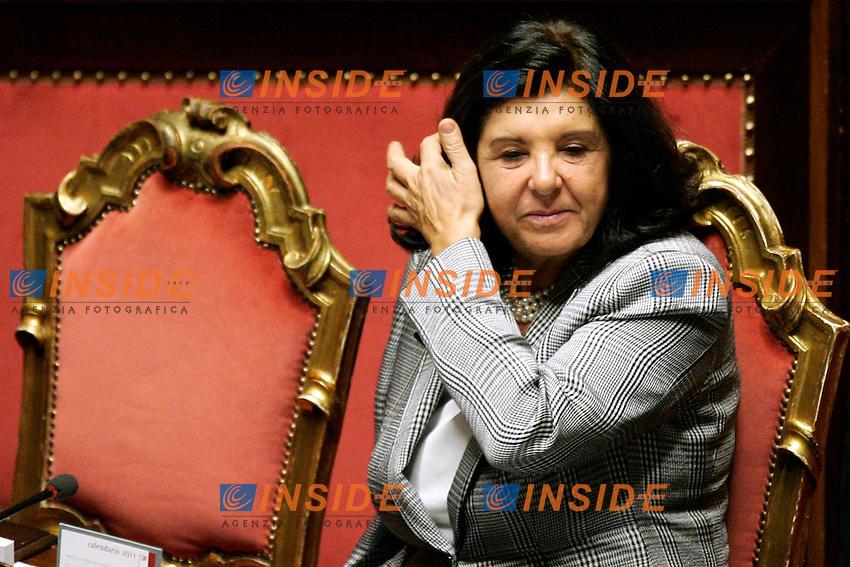 LORENZO ORNAGHI, BENI CULTURALI..Roma 17/11/2011 Senato. Voto di Fiducia al nuovo Governo Monti. ..Photo Samantha Zucchi Insidefoto ..