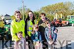 Seen in Boyles Hardware car park on Friday<br /> Supporting the 2nd Annual Killorglin Lawnmower Run <br /> Back L-R Lorraine Hickey, Melissa Ferris, Ann Marie Morrison.<br /> Front L-R Holly Hickey, Ava & Fraya Morrison.